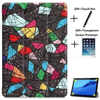 New arrival Slim Tablet Case for Huawei MediaPad M5 Lite 10 Stand Cover Case for M5 Lite 10 Tablet 10.1 BAH2-L09/W19 DL-AL09