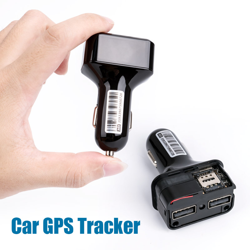 Mini Car GPS Tracker Built in Microphone GSM Listening Device GPS+AGPS+LBS Location Tracking Charger Vehicle Tracker