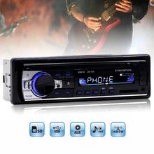 JSD 520 Head Unit Single Din Stereo Dengan Radio FM USB SD AUX Bluetooth Handsfree Untuk Mobile