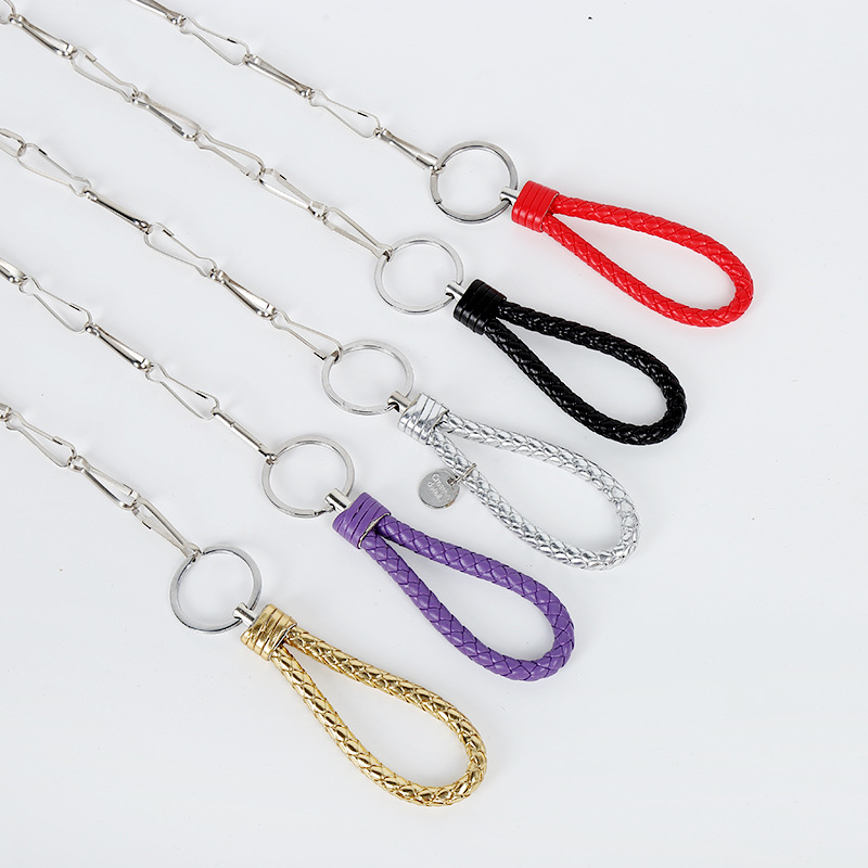 Stainless Steel Metal Chain Dog Chain-Free Form Increase Length Pet Traction Rope