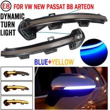 דינמי נצנץ LED איתות עבור פולקסווגן פאסאט B8 Variant Arteon אור מראה חיווי סדרתית 2015 2016 2017 2018 2019 2020
