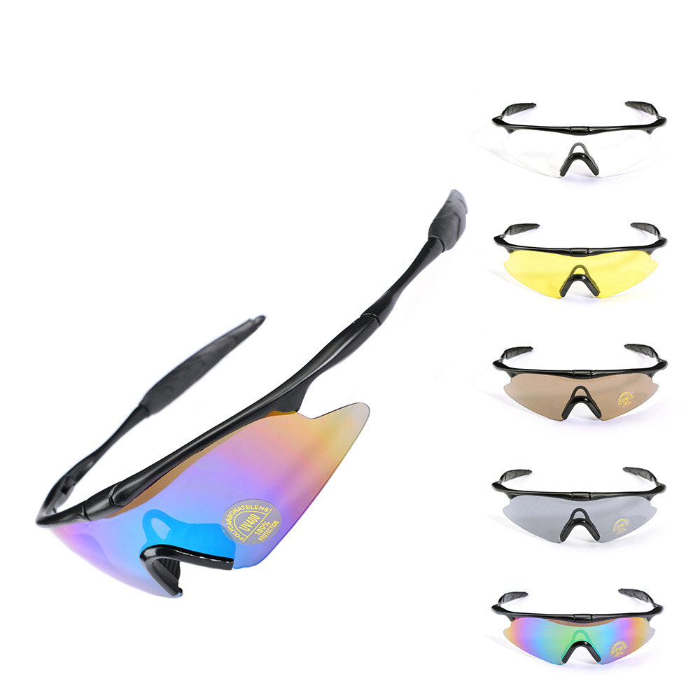 Outdoor Riding Army Fans Tactical Glasses Windproof Ski Goggles F100 Protection Sun Glasses Bicycle Equipment