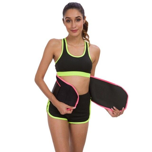 Men Women Fitness Waist Belt Waist Trimmer Belt Weight Loss Sweat Band Gym Training Weightlifting Tummy Slim Belts Body Shaper 1