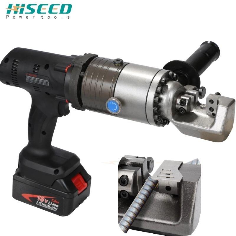 Portable Electric Steel Bar Shear Portable Hydraulic Cutting Machine Rebar Cutter 4-16MM