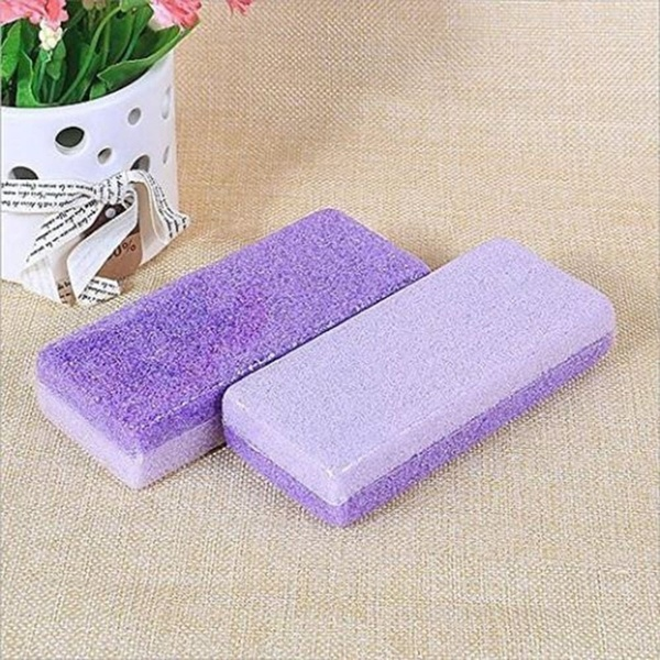 2pcs Cleansing Pumice Stone Exfoliating Foot Health Care Dead Skin Callus Corn Remover Pedicure Tools 5