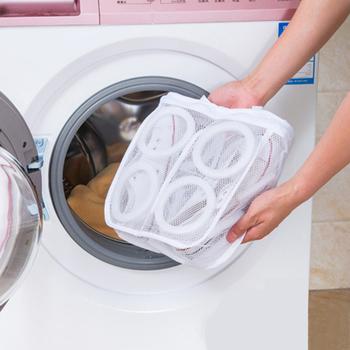 Fashion Storage organizery Mesh buty do prania torby Dry Organizer na obuwie z zamkiem błyskawicznym przenośne worki do prania worki na pranie tanie i dobre opinie CN (pochodzenie) Laundry Bags Poliester