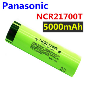 Panasonic 21700 NCR21700T lithium rechargeable battery 5000mAh 3.7 V 40A high-discharge battery high-drain Li-ion battery