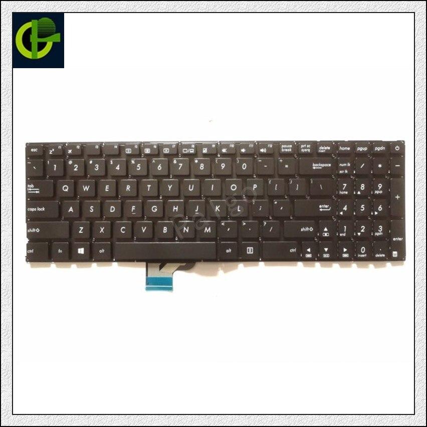 New English Keyboard For Asus UX510U UX510 V510UX UX510UA V510UX7200 UX510UW  U5000u  U5000uq US Laptop