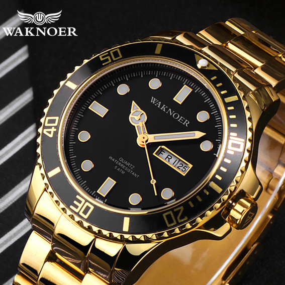 Men Quartz Watch Classic Design Masculino Relogio Mens Stainless 5ATM Luminous Calendar Auto Date Luxury Wristwatch Montre Homme