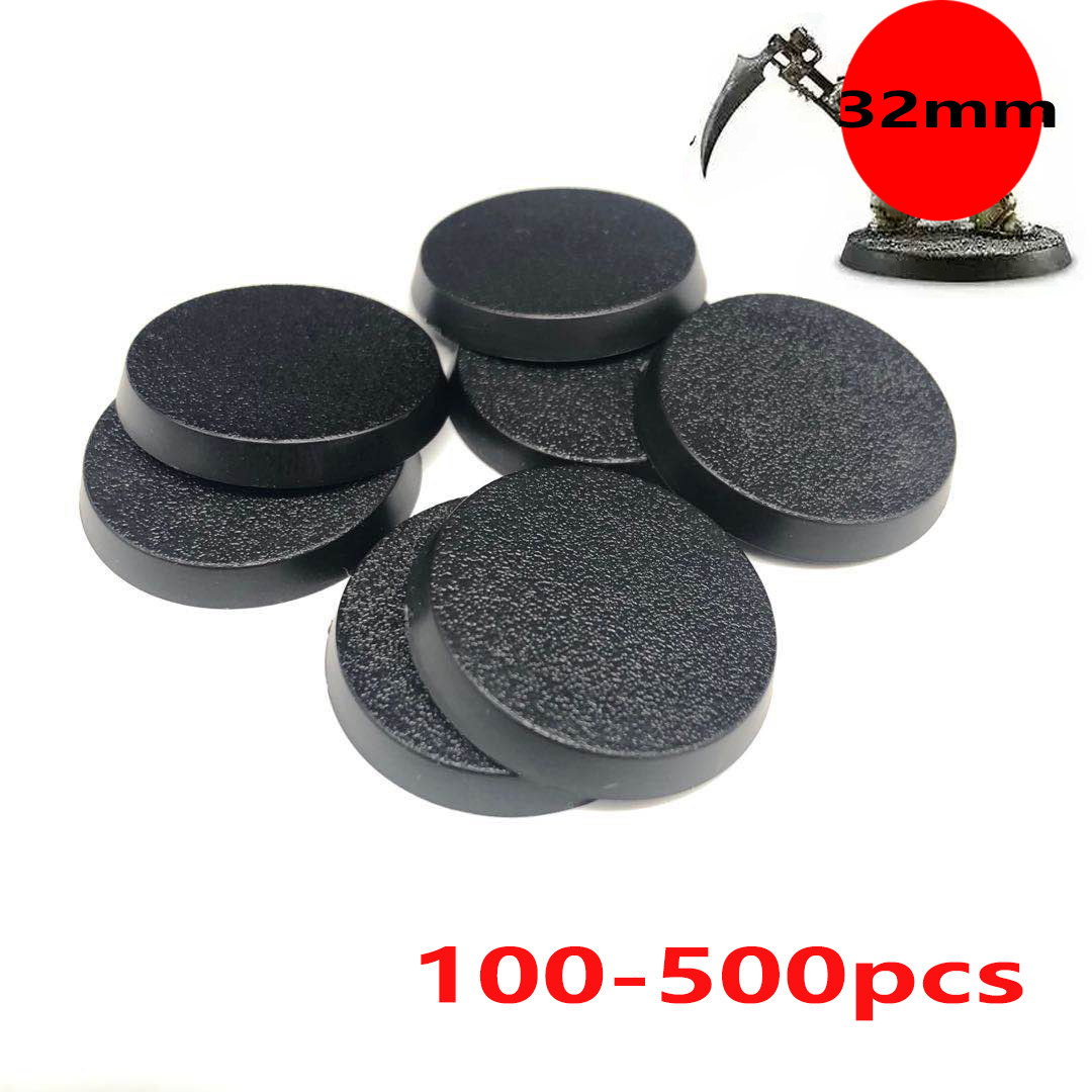 Mercury/_Group,Round Rectangle Oval Square Gaming Base,/_Model Bases 80 x 32mm Round Plastic Bases for Gaming Miniatures