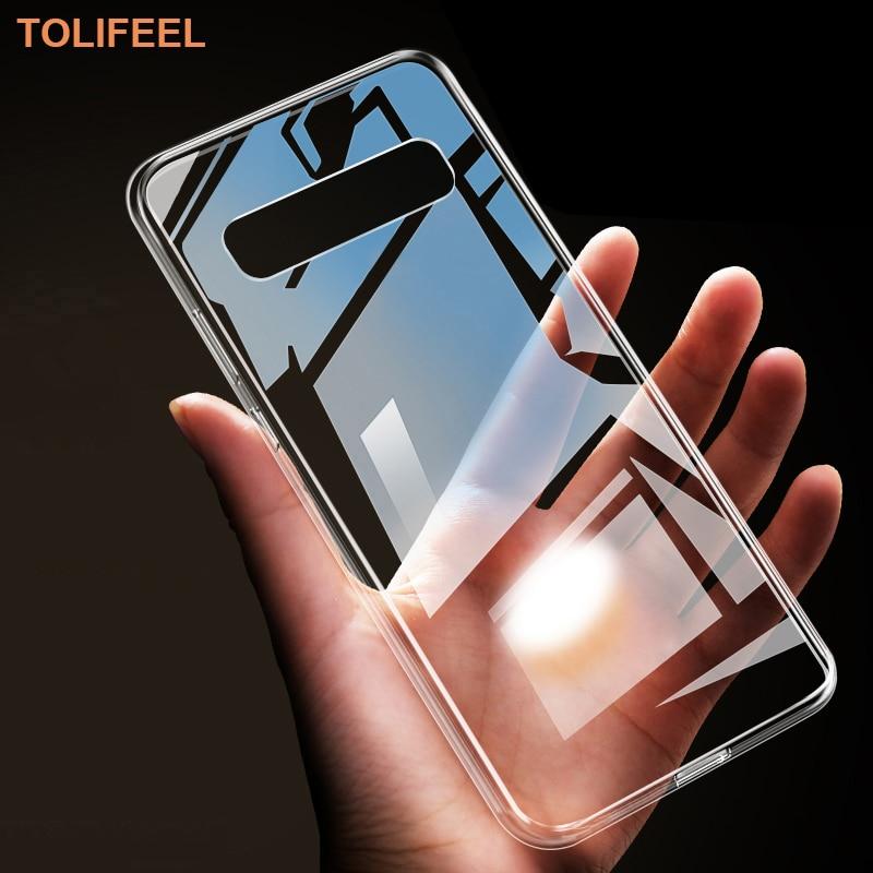 Чехол TOLIFEEL для Samsung Galaxy S10E S10 S9 S8 Plus S7 S6 Edge, мягкий силиконовый прозрачный чехол для Samsung S10 5G S9 Plus