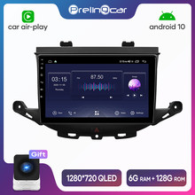 Android 10.0 4G Lte Car multimedia navigation GPS DVD player For Opel Astra K 2015-2019 IPS screen Radio stereo