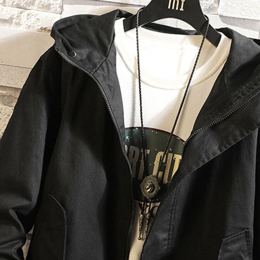 H24d5a7fcfbe34445a1882e699cb9b679m - Casual Tops Plus Size  Fashion Fashion Men's Autumn Winter Solid Casual Long Sleeve Jacket Coat  wo man
