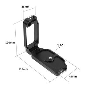 Image 2 - Placa de liberación rápida para cámara Nikon D850 aleación de aluminio soporte profesional Carga rápida L, piezas de repuesto para fotografía