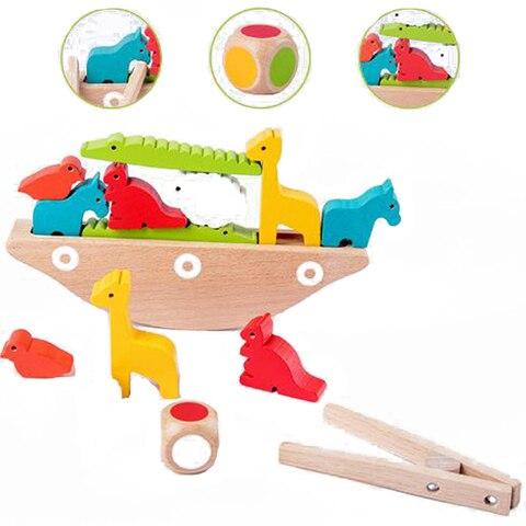 animais dos desenhos animados equilibrio quadro do bebe brinquedo de aprendizagem precoce montessori auxiliar de