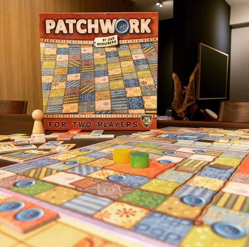 Новая настольная игра в стиле пэчворк, 2 игрока, семейный/праздвечерние лучший подарок для детей, боевая игра, развлечение в помещении, забав...