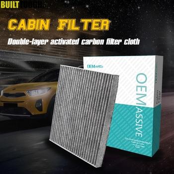 Filtr do klimatyzatora kabinowego pyłku samochodowego węgiel aktywny do Toyota Avensis Verso Corolla Verso 2003 2004 2005 2006 2007 2008 tanie i dobre opinie OEMASSIVE CN (pochodzenie) Cabin Air Filter Compartment Activated Carbon Filter Cloth 88568-02030 87139-YZZ07 88568-12020