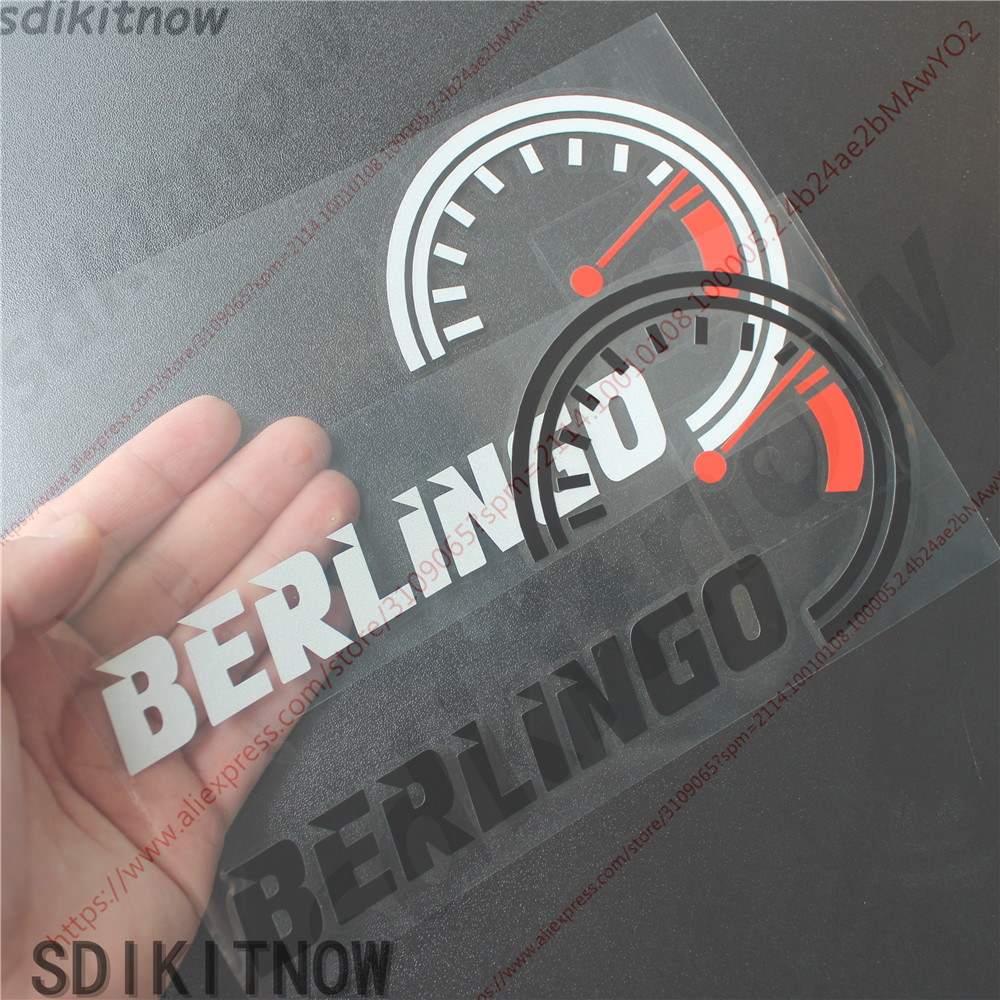 Car Dash Borad Decal Speed Sticker Styling Front Windshield Decoration For Citroen Berlingo 1 2 3 Accessories