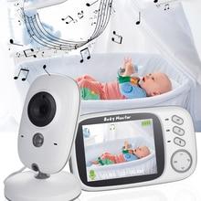 Camera Temperature-Monitor Talk Video-Nanny Radio Baby Night-Vision 8-Lullabies Wireless