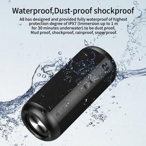 Image 2 - Mifa A8 Bluetooth Speaker 30W Suono Stereo Con IPX7 Impermeabile 12H di Riproduzione del Suono Superiore per il Campeggio di Sport Da Spiaggia pool Party