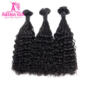 Amanda Double Drawn Hair Fumi Deep Curl Brazilian Virgin Hair Natural Color Unprocessed Virgin Human Hair 100gpiece Full End
