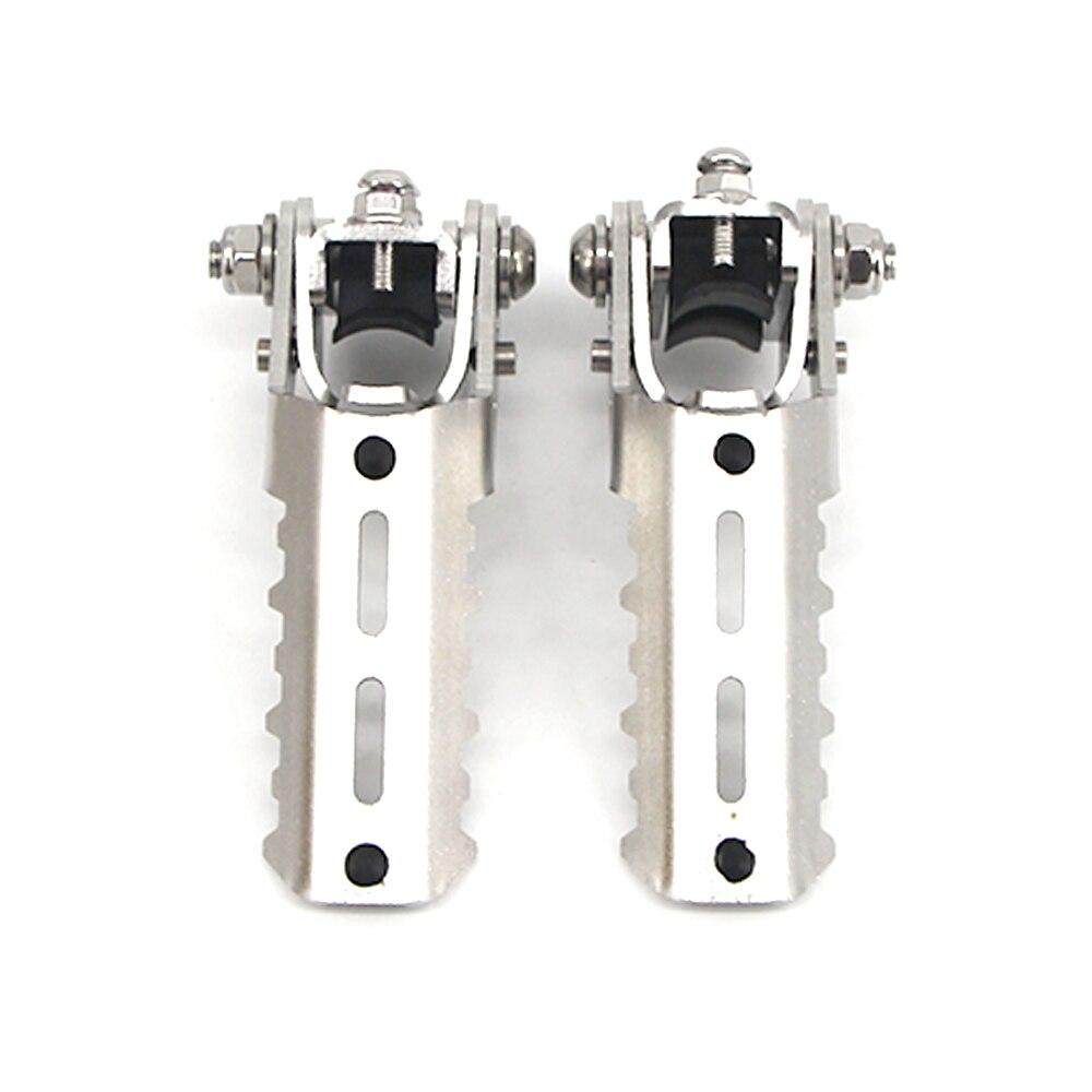 pé pegs folding apoio para os pés grampos 22-28mm