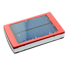 Dual USB Solar Mobile Power Bank Nesting Portable Battery Charger Box Camping Light B88