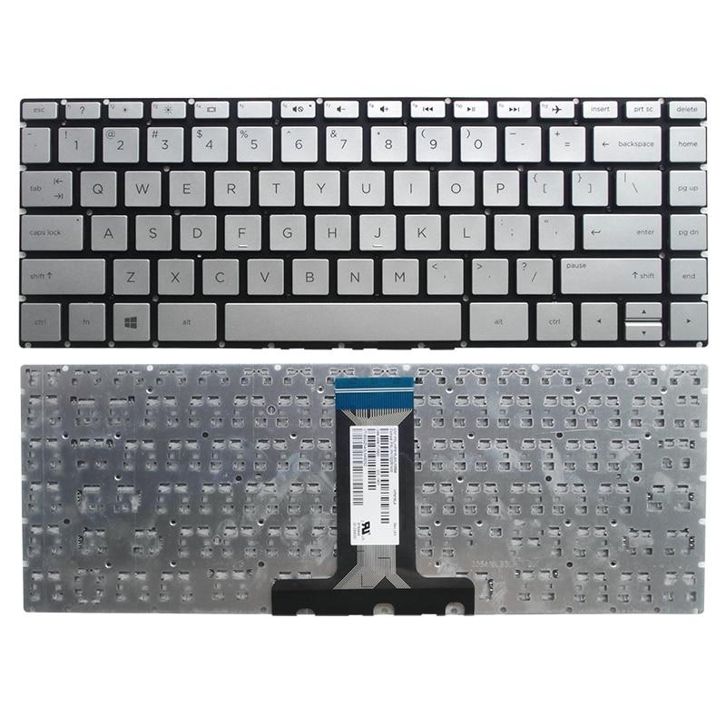 键盘 HP惠普 直角《US版本 银色》14-bs KBHP14-BS-C 正反面