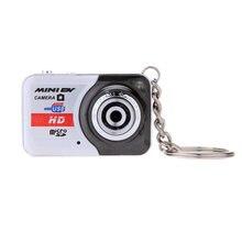 Minicámara Digital portátil X6 Ultra HD, 32GB, tarjeta TF con micrófono, cámara de vídeo Digital, PC, DV, grabación de grabación