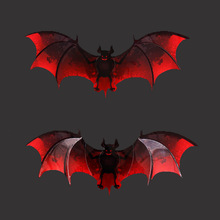 купить Free shipping 12pcs PVC 3d Bat wall decor cute Bats wall stickers Halloween Decoration art Decals home Decoration room wall art по цене 158.92 рублей