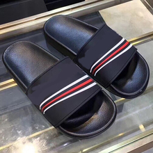 paris BB style Men Slippers Shoes Soft Footwear Fashion homme Water Sho