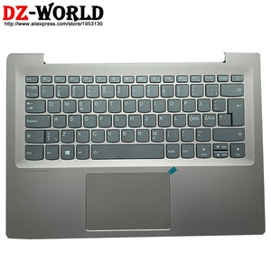 New Shell C Cover Palmrest Upper Case With Nordic Backlit Keyboard Touchpad for Lenovo Ideapad 520s-14IKB Laptop 5CB0P26485