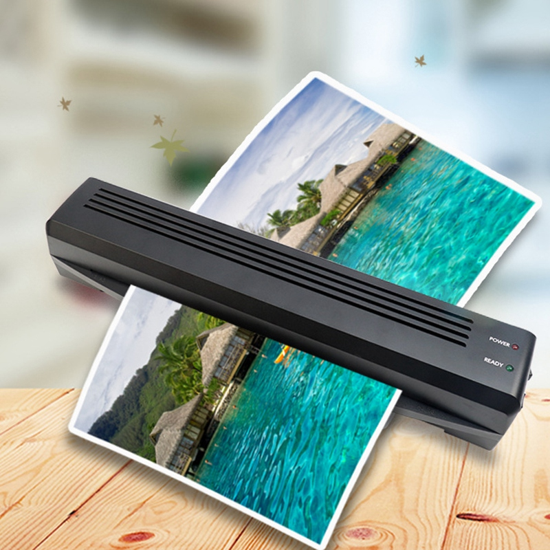 A3/A4 Photo Laminator Hot Cold Laminator Fast Speed Film Laminating Plastificadora Machine Laminating W/ Free Paper Trimmer Cutt