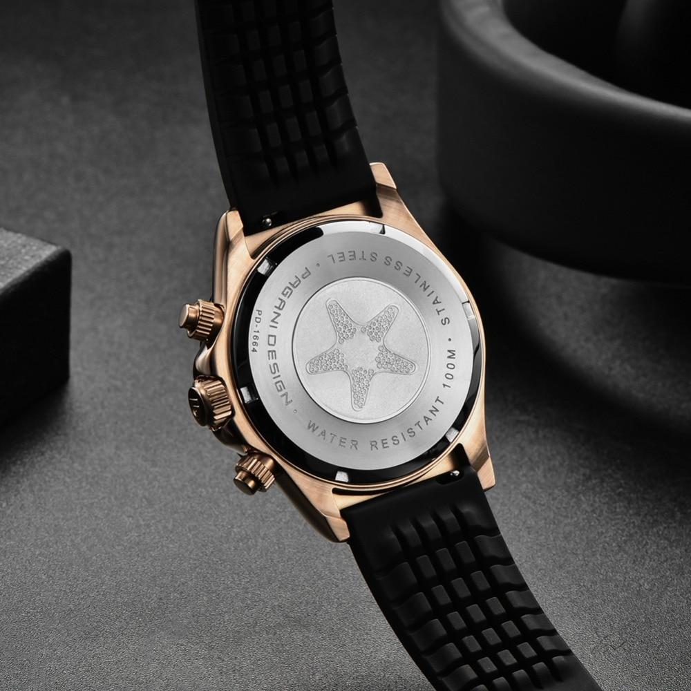 2020 New PAGANI DESIGN Mens Quartz Watches Automatic Date Luxury Gold Wristwatch Men Waterproof Chronograph Japan seiko VK63 Clock man dropshipping (52)