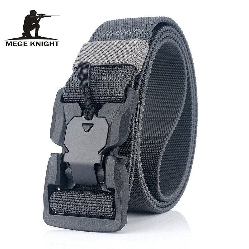 MEGE Tactical Belt Nylon Military Army Belt Heavy Duty Training Waist Belt Military Equipment Tactical Accessories Dropshipping