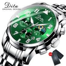 Новинка 2020, роскошные брендовые модные мужские часы из нержавеющей стали, спортивные часы с хронографом, кварцевые часы для мужчин, Relogio Masculino