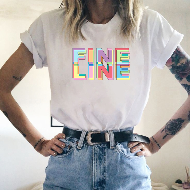 Hot Sale 028f6 Kpop New Harry Styles T Shirt Fine Line Love On