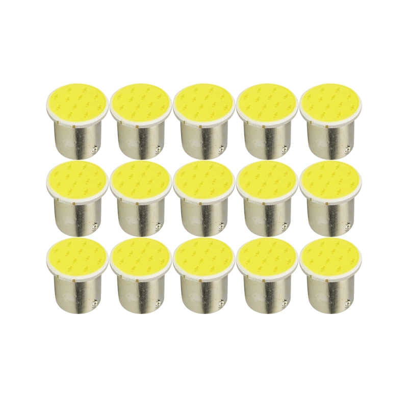 10x P21W 1157 BAY15D 1156 Ba15S Auto Led Licht Signaal Lamp Cob Super Heldere Auto Turn Tail Reverse Parking Brake lamp 12V 12SMD