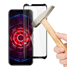 9D Curved Full Protective Glass For ZTE nubia Red Magic 3 Screen Protector Tempered Protection Film