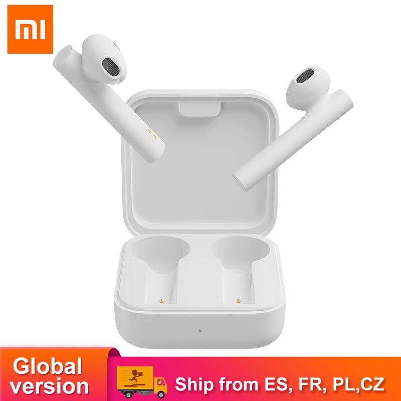 Xiao Mi Air 2 SE Bluetooth 5,0 наушники Mi True беспроводные наушники air2 SE с сенсорным управлением глобальная версия