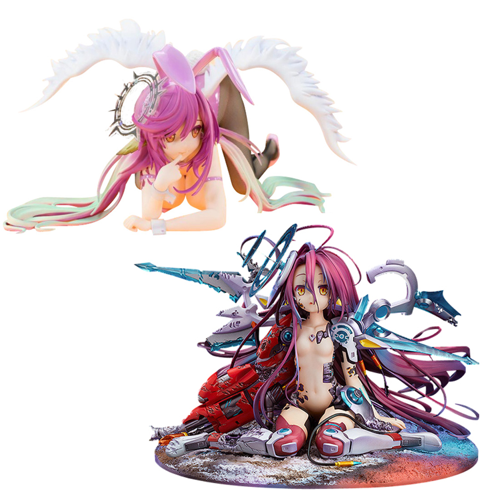 FREEing B-style No Game No Life Hubby Anime Bunny Girl PVC Action Figure Toys Sexy Girls Figures Toy Collection Model Doll Gifts