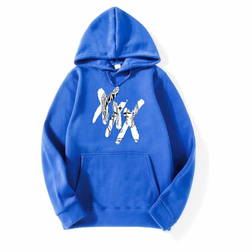 Neue Mode Xxxtentacion Revenge Hoodies Männer/Frauen Sweatshirts Rapper Hip Hop Mit Kapuze Pullover Sweatershirts Männlich/Frauen Kleidung