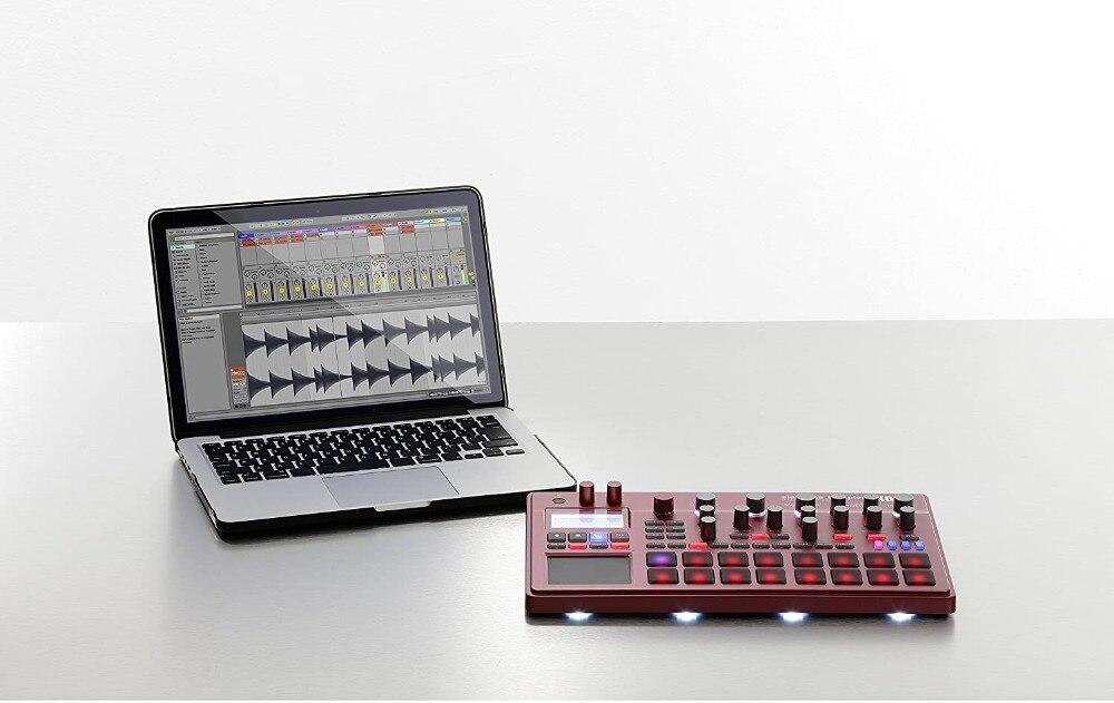 Korg electribe2s sinteesizador, amostrador de dança simulação estação de trabalho