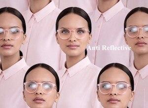 Image 3 - Chashma marka lensler 1.61 endeksli asferik şeffaf Lens MR 8 güçlü Anti yansıtıcı optik gözlük reçete lensler gözler için