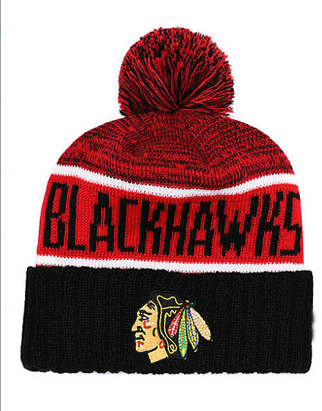 2019 Toronto Maple Leaf Knit Hat Winter Cap For Men Knitted Cap Women Hedging Cap Skullies Warm CHICAGO BLACKHAWKS BEANIES9