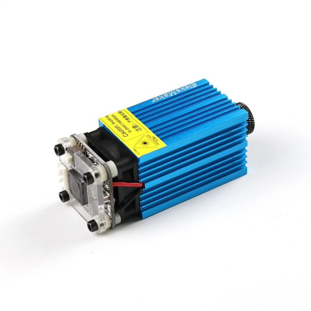 ALLSOME EleksMaker EL01-3500 445nm 3500mW Blue Laser Module PWM Modulation 2.54-3P DIY Engraving Machine DC 12V