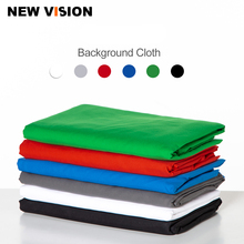 Czarny biały zielony niebieski czerwony kolorowa bawełniana tkanina muślin fotografia tła fotografia studyjna ekran Chromakey tło tkaniny
