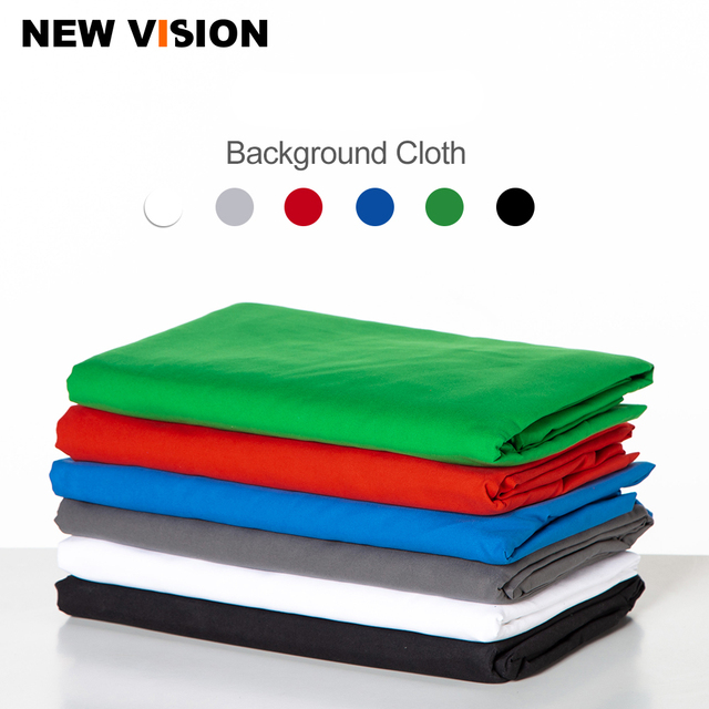 Fondo para estudio fotográfico tela textil de algodón muselina foto negro blanco verde azul rojo