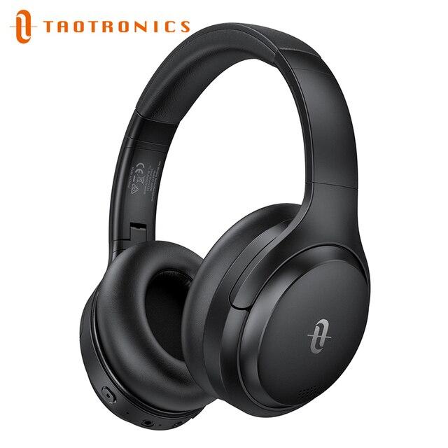 TaoTronics Wireless Bluetooth Headphones SoundLiberty 90 New Hybrid Active Noise Cancelling Headphone ANC Hifi Headset with Mic 1
