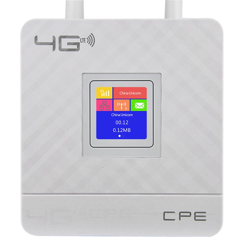 Cpe903-1 3G 4G Portable Hotspot Lte Wifi Router Wan/Lan Port Dual External Antennas Unlocked Wireless Cpe Router+ Sim Card Slot image